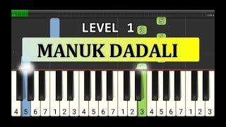 not piano manuk dadali - tutorial level 1 - lagu daerah nusantara - tradisional -  jawa barat