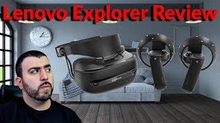 Lenovo Explorer Mixed Reality VR Headset Review - A Mixed Experience - YouTube Tech Guy
