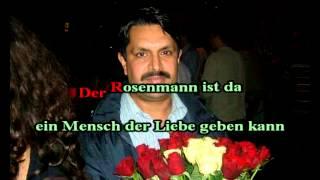 Jean-Michel Aweh - Der Rosenmann Karaoke