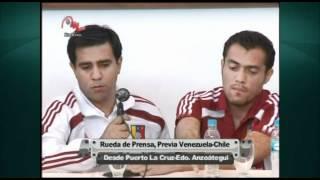 Rueda de prensa / Previa al Venezuela-Chile / Meridiano TV