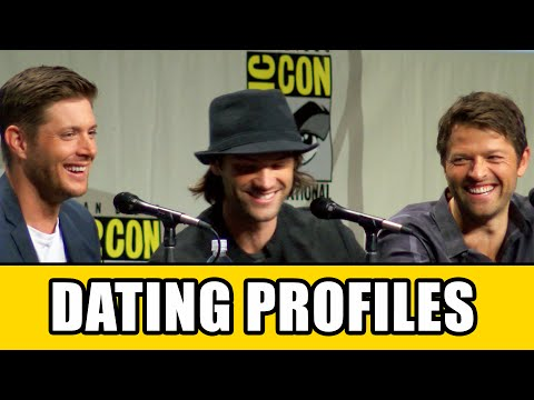 Supernatural Cast Reveal Their Online Dating Profiles At Comic Con