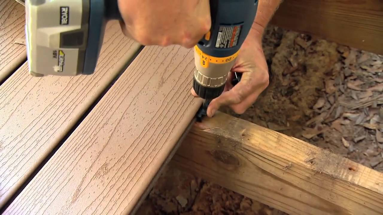 Trex Enhance LowMaintenance Decking Available at The Home Depot