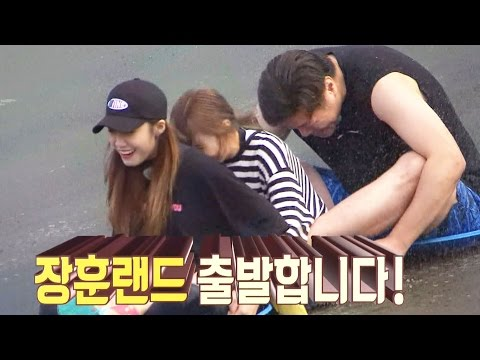 Apink, Speed Sleigh Ride With Seo Jang Hoon! 《Flower Crew》 EP06 20161010