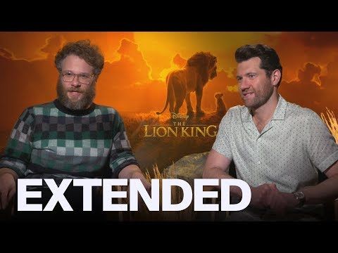 Seth Rogen Billy Eichner On Singing With Beyonce In &39;The Lion King&39;  EXTENDED