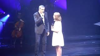 Léa chante avec Julien Clerc