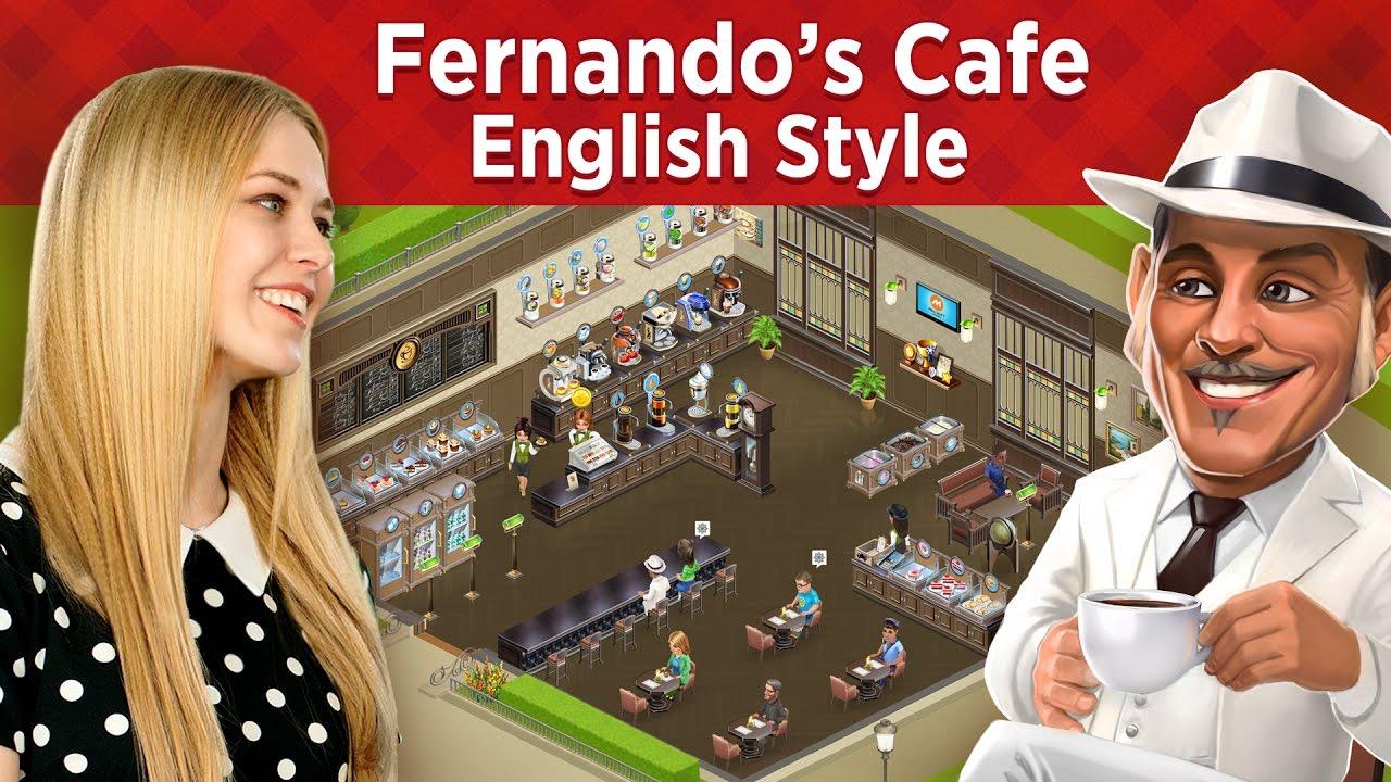 My Cafe: English Style at Fernando's - YouTube