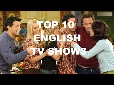 The best english tv series