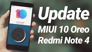Install 8.1 Oreo MIUI 10 on Redmi Note 4