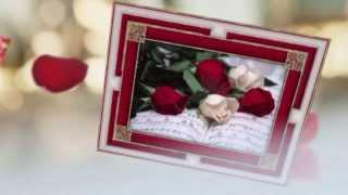 Поздравление женщинам. Эти розы для тебя.