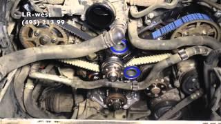 видео ремонт двигателей land rover