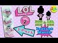 default - L.O.L Surprise! Lil Sisters Series 3 (3-Pack)