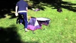 Alps Mountain Tent Setup