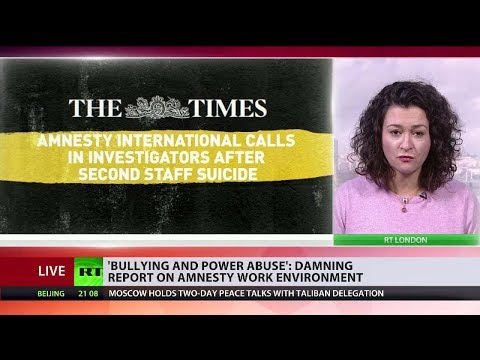 'Bullying and power abuse': Damning report on Amnesty work environment