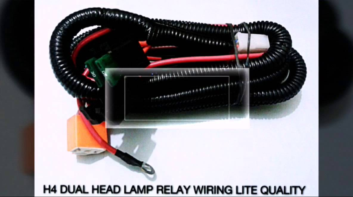 maxresdefault car head lamp relay & wiring harness (india) 919811024877 youtube h4 headlight wiring harness upgrade at n-0.co