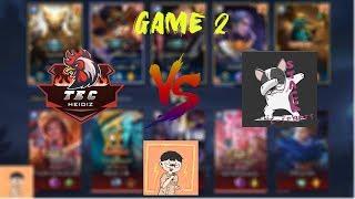TEC HEIDIZ vs STACK E SPORTS GAME 2