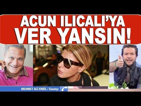 Mehmet Ali Erbil'den Acun Ilıcalı'ya şok sözler