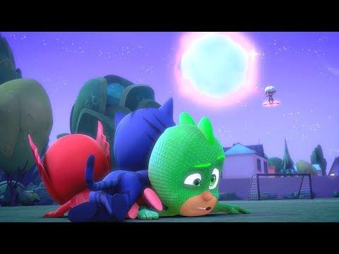 PJ Masks en Español - Gatuno y el Balón Lunar -  Temporada 1 - Compilación - Dibujos Animados