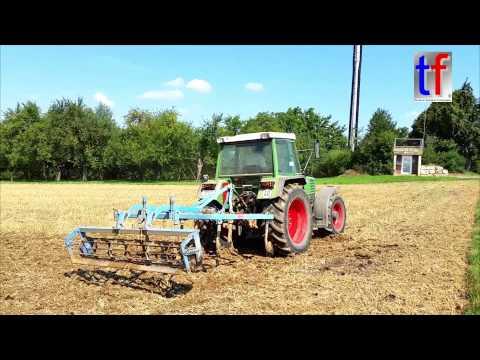 Fendt Farmer 309 LSA @ Work, Weiler zum Stein, Germany, 22.08.2015.