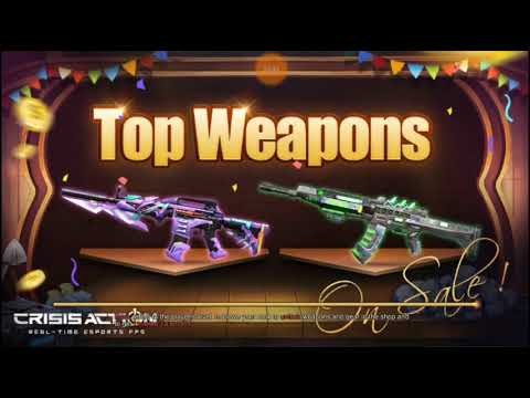 Frost M4 ft Super Alloy AK47 Game Play || Crisis Action Indonesia |#11