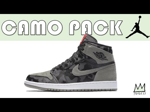 AIR JORDAN 1 CAMO PACK, VERY LIMITED NMD R2 TOKYO, BRED 13 RELEASE INFO & MORE!!