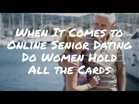 When It Comes to Online Senior Dating, Do Women Hold All the Cards?