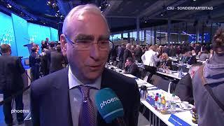 CSU-Parteitag: Theo Waigl im Interview am 19.01.19