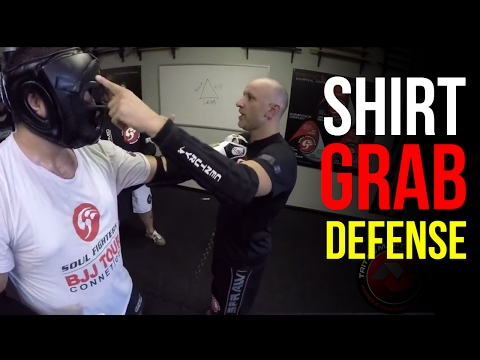 How to Defeat STRONG Grips - Shirt Grab Defense Technique