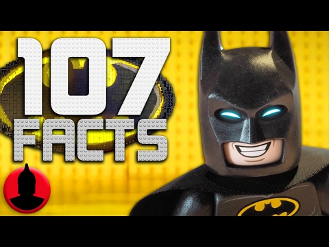 107 LEGO Batman Movie Facts -  LEGO Week! (Tooned Up #235) | ChannelFrederator