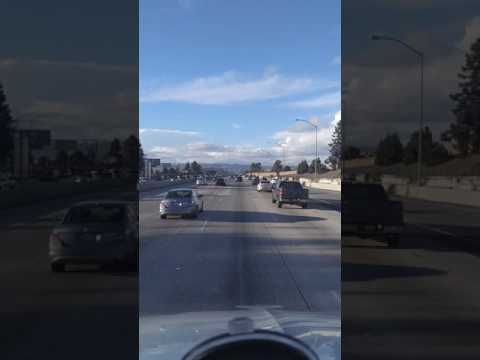 North bound San Diego Freeway