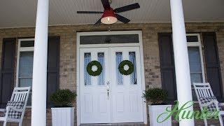 Huntervention™ refreshes Charlotte porch with modern farmhouse design