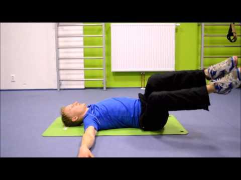 Posilování břišních svalů šikmé 1