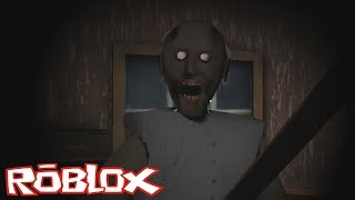 ESCAPE FROM THE GREAT HOUSE IN ROBLOX! 👵😈