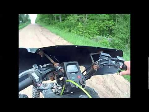 98 Grizzly 600 Backfiring Problems