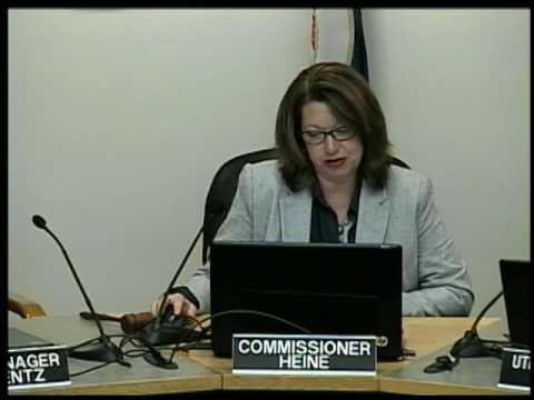 September 27th, 2016 New Ulm Public Utilities Commission Meeting
