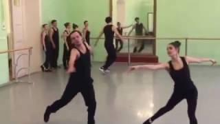 Современный джаз танец. Открытый урок. (часть 7)