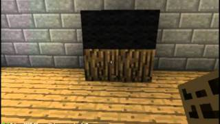 How to make a Small Entertainment center in Minecraft