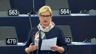 Karin Karlsbro 23 Oct 2019 plenary speech on Climate and ecological emergency