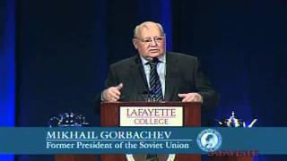 "Mikhail Gorbachev at Lafayette College: ""Perspectives on Global Change"""