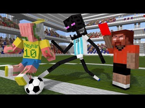 Monster School: World Cup 2018 - Minecraft Animation thumbnail