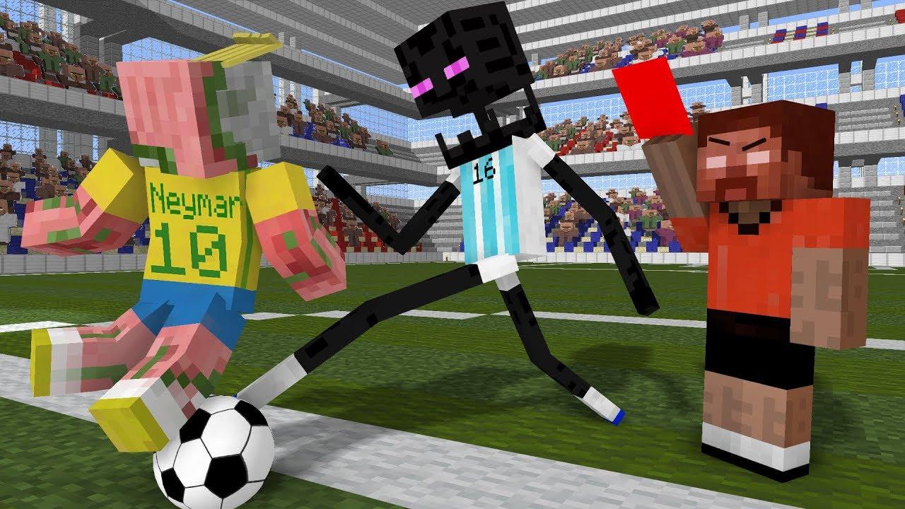Monster School: World Cup 2018 - Minecraft Animation #1
