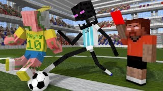 - Monster School World Cup 2018 Minecraft Animation
