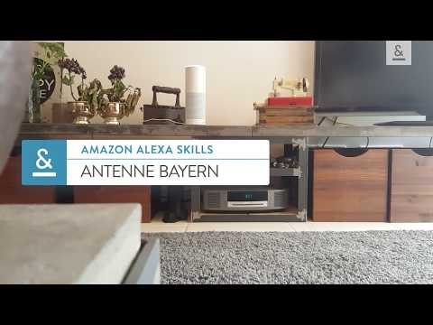 Amazon Alexa Skills - ANTENNE BAYERN