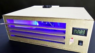 How to make Portable Air Condition from Cardboard?