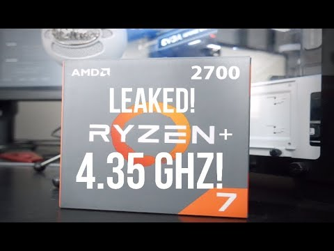 Leaked Ryzen 2700 4.35hz boost! Better overclocking and single core performance!