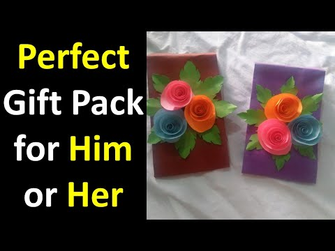 DIY A Perfect Gift Pack for him or her | Art and Craft by Kulsoom