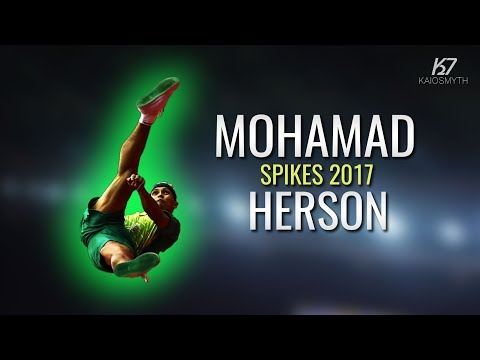 Sepak Takraw ● Mohamad Herson ● Spikes and Skills | 2017 | HD