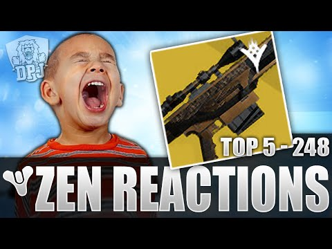 Destiny: Funny Top 5 Freakout Reactions To Zen Meteor Drops Of The Week / 248