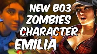New BO3 Zombies Character Emilia??? Samantha Emilia Abigail Explained! Black Ops 3 Zombies