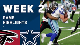 Falcons vs. Cowboys Week 2 Highlights | NFL 2020