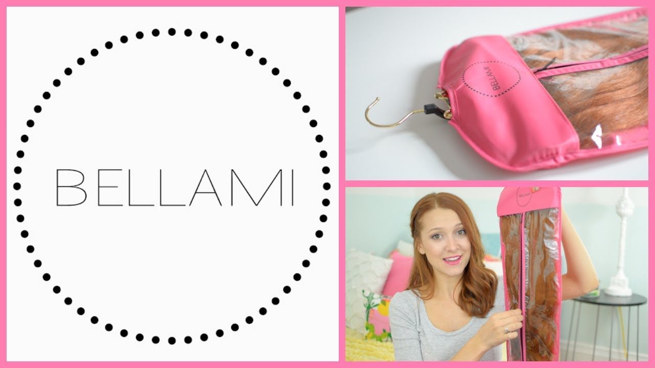 Bellami hanger and carrier hair extension storage youtube pmusecretfo Choice Image